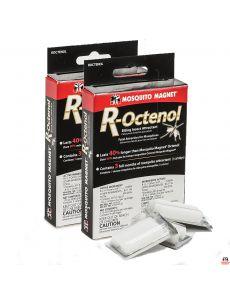 Набор приманок R-Octenol на 4 месяца - 6 таблеток для ловушек для комаров и мокрецов Mosquito Magnet