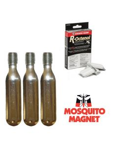 Комплект аксессуаров R-Octenol для ловушек-уничтожителей комаров и мошки Mosquito Magnet на 2 месяца