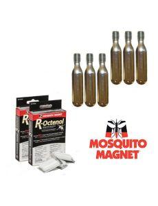 Комплект аксессуаров R-Octenol для ловушек-уничтожителей комаров и мошки Mosquito Magnet на 4 месяца