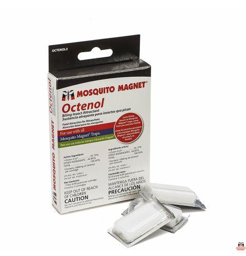Набор приманок Octenol на 2 месяца - 3 таблетки для уничтожителей комаров и мошки Mosquito Magnet