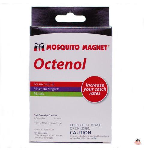 Коробка с тремя таблетками аттрактанта Октенол
