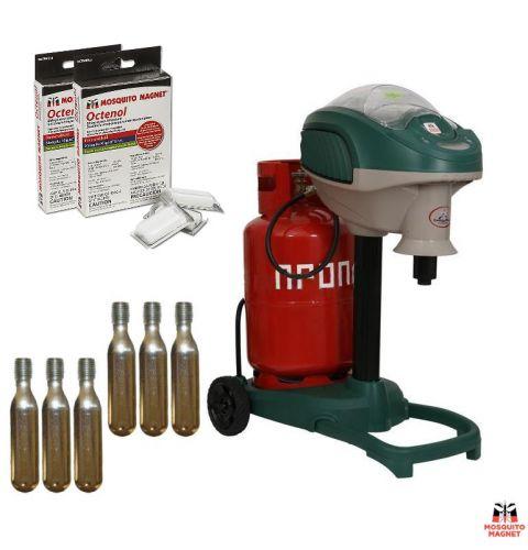 Уничтожитель комаров и кровососущих насекомых Mosquito Magnet Executive, комплект на 4 месяца