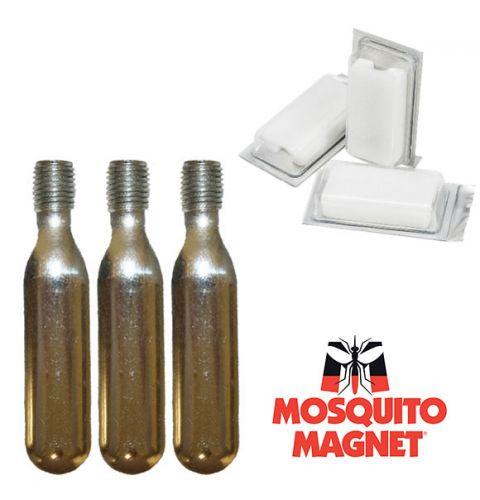 Комплект аксессуаров Octenol для ловушек-уничтожителей комаров и мошки Mosquito Magnet на 2 месяца