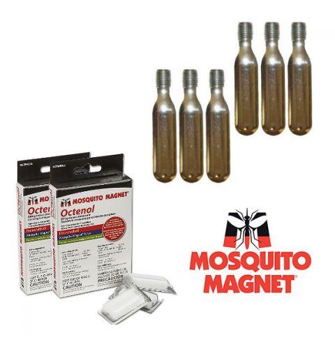 Комплект аксессуаров Octenol для ловушек-уничтожителей комаров и мошки Mosquito Magnet на 4 месяца