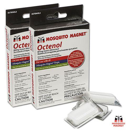Набор приманок Octenol на 4 месяца - 6 таблеток для ловушек для комаров и мокрецов Mosquito Magnet